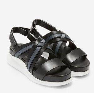 Cole Haan Zerogrand Criss Cross Sandal